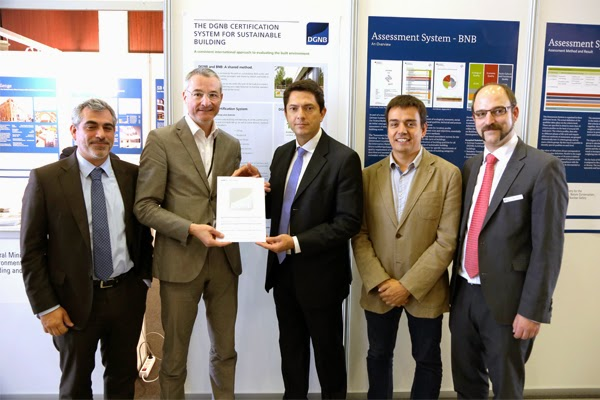 LIDL CERTIFIES THE NEW LORQUÍ LOGISTICS CENTER FOR GREEN SUSTAINABILITY & DGNB SYSTEMS