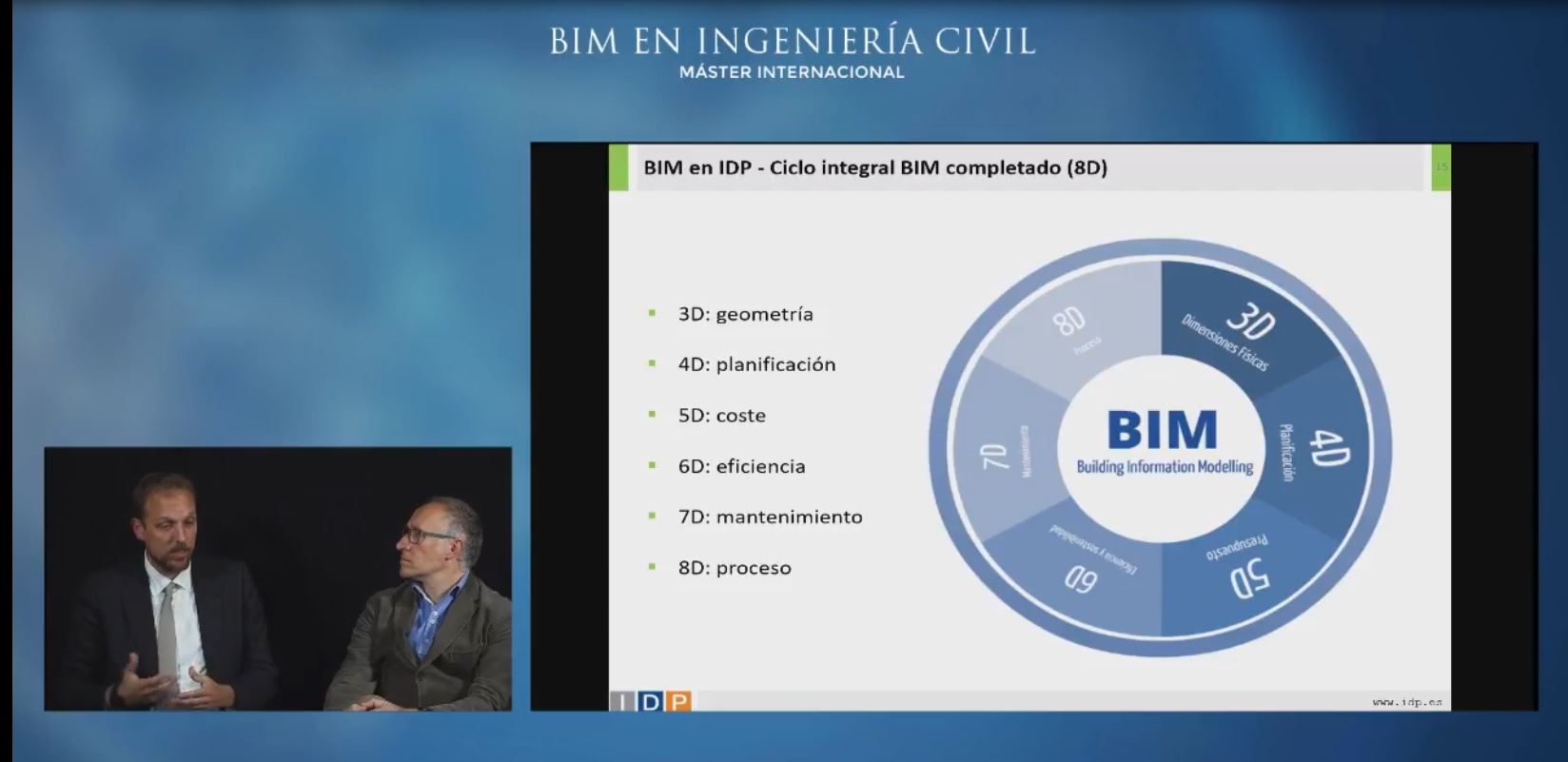 IDP PARTICIPATES IN THE MASTER CLASS ON BIM PROJECTS IN THE FIELD OF CIVIL ENGINEERING