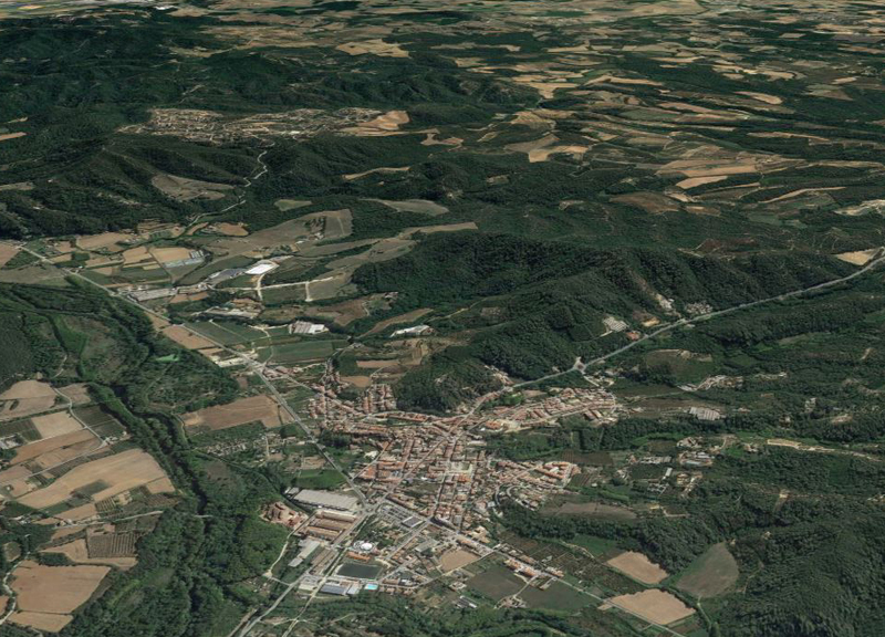 IDP REALIZES THE IMPROVEMENT PROJECT OF THE VARIANT OF THE ROAD C-63 IN ANGLÉS (GERONA)