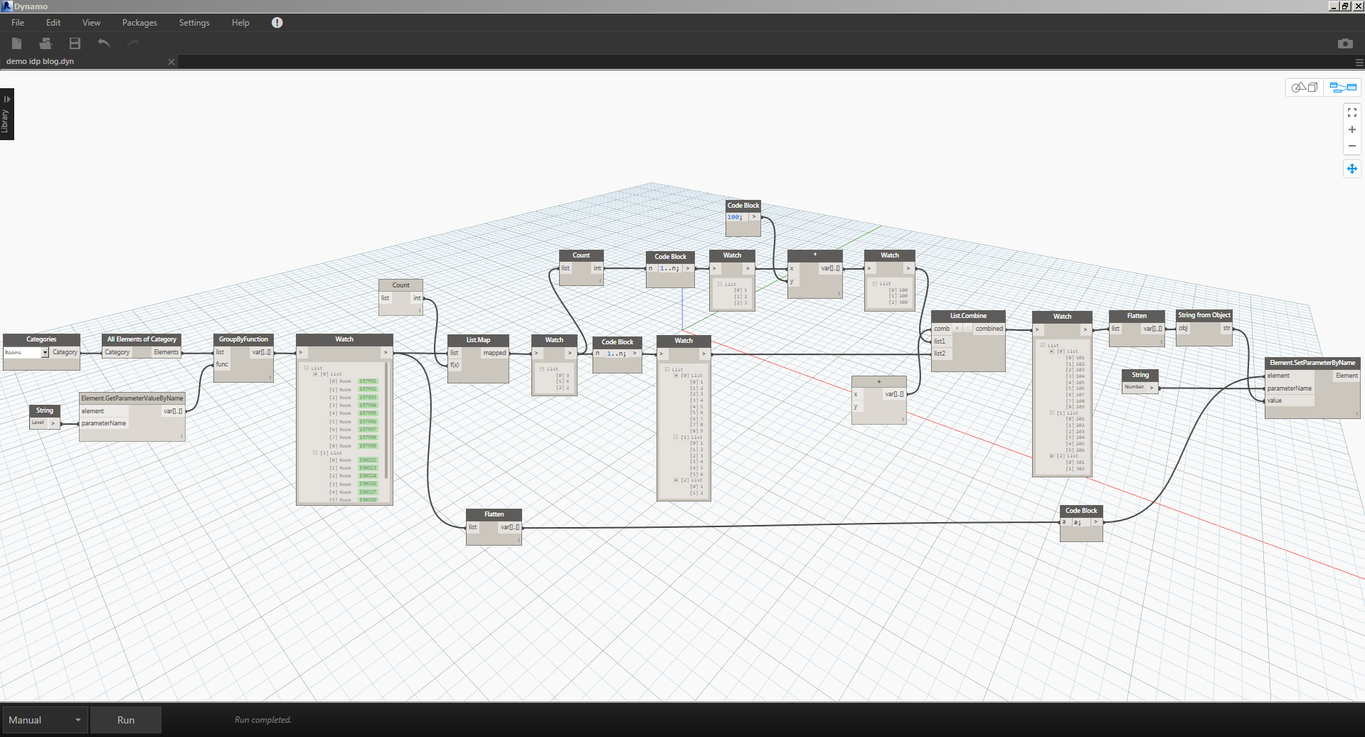 AUTOMATION OF PROCESSES THROUGH DYNAMO: PROGRAMMING FOR NON-PROGRAMMERS