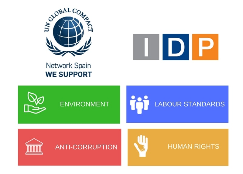 IDP NEW PARTNER OF THE UNITED NATIONS WORLD GLOBAL COMPACT