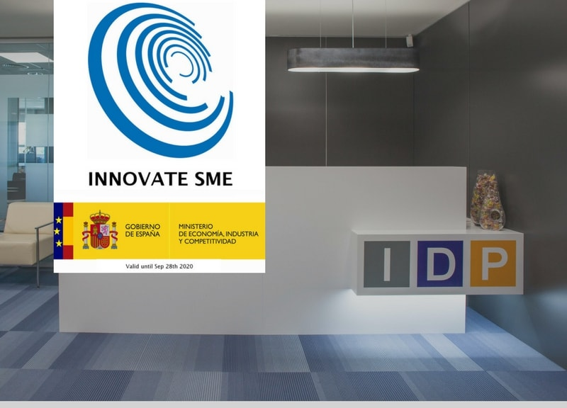 IDP ACCREDITED AS AN INNOVATIVE COMPANY BY THE MINISTRY OF ECONOMICS AND COMPETITIVENESS