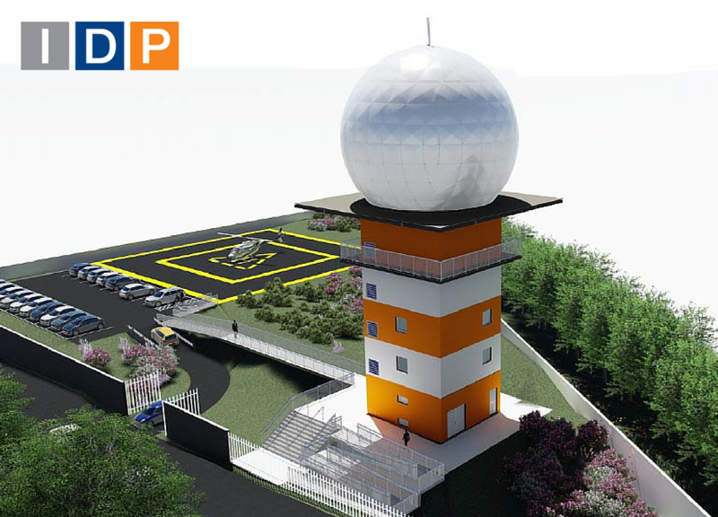 IDP AWARDED WITH THE STUDY AND BUILDING PROJECT OF THE METEOROLOGICAL RADAR TOWER IN CHAPECÓ (BRAZIL)