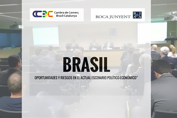 "ENRIC BLASCO HAS TAKEN PART AT THE COLLOQUIUM BREAKFAST ""BRAZIL: OPPORTUNITIES AND RISKS IN THE CURRENT POLITICAL-ECONOMIC SCENARIO"""
