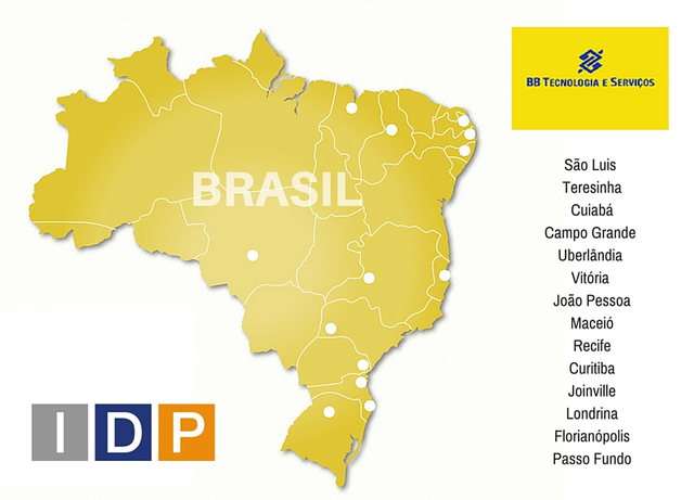 IDP awarded with the project of 14 Banco do Brasil agencies for Cobra Technology (Brazil)