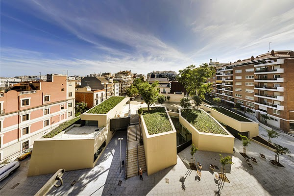 THE JOAN MARAGALL LIBRARY RECEIVES THE 2014 CITY OF BARCELONA AWARD IN THE ARCHITECTURE AND URBANISM CATEGORY
