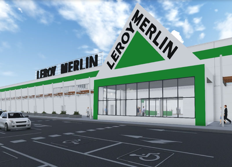 IDP CARRIES OUT THE PROJECT OF A NEW LEROY MERLIN STORE (BRAZIL)