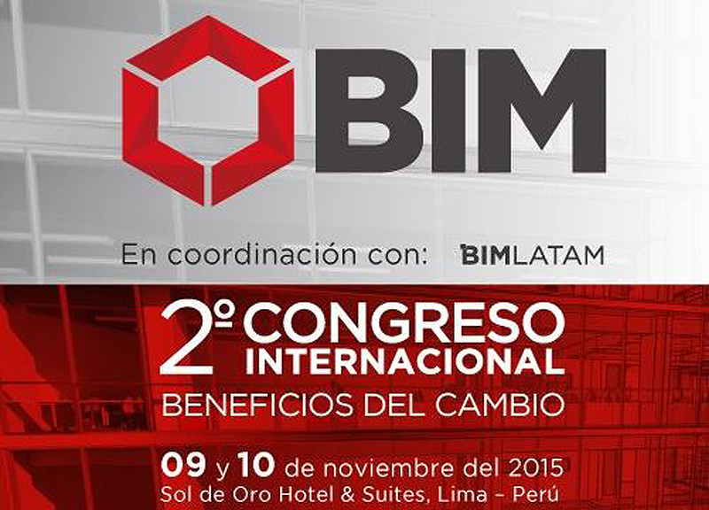 IDP WILL PARTICIPATE AT THE II INTERNATIONAL BIM CONGRESS IN LIMA (PERU)
