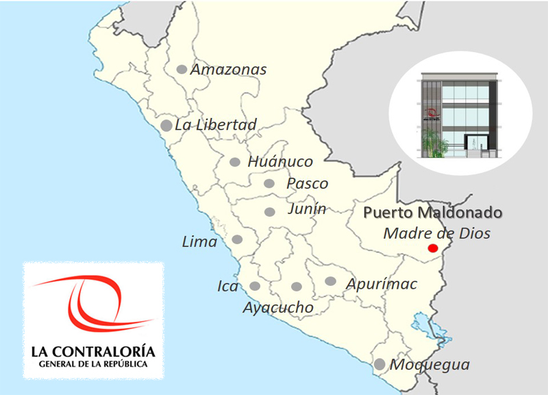 IDP AWARDED WITH THE REGIONAL CONTROL OFFICE PROJECT AT PUERTO MALDONADO IN PERU