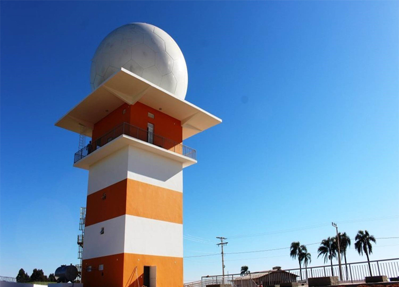 IDP FINISHES THE PROJECT OF THE METEOROLOGICAL RADAR TOWER IN CHAPECÓ (BRAZIL)