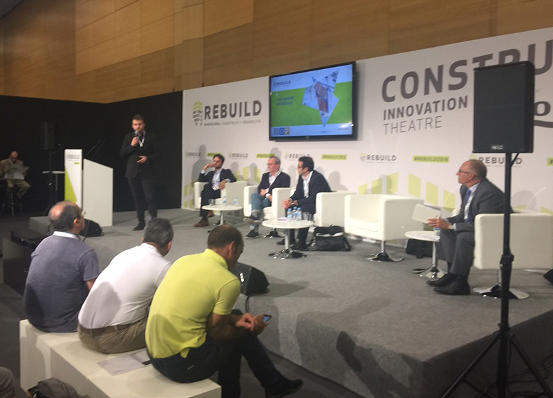 IDP participates in REBUILD 2018: National Congress Advanced Architecture and Construction 4.O
