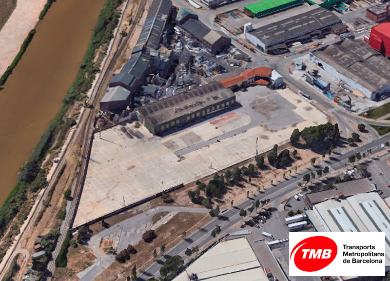 IDP is awarded the project for TMB's new central warehouse in the Zona Franca Industrial Estate in Barcelona