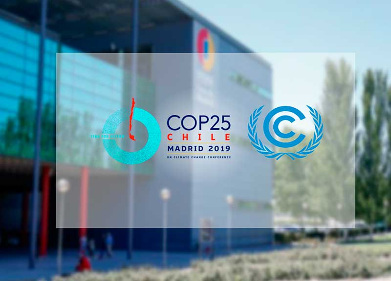 THE CONFERENCE OF THE PARTIES TO THE UN CONVENTION ON CLIMATE CHANGE (COP25) STARTS IN MADRID.