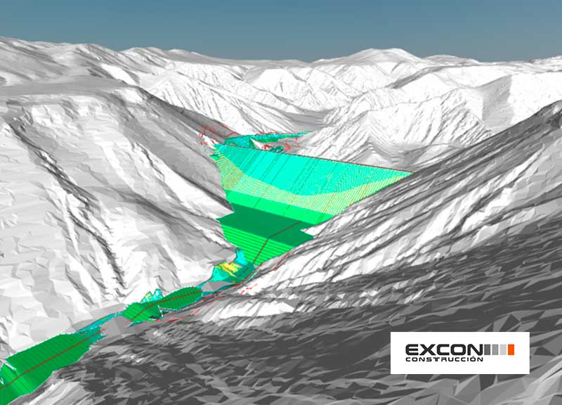 IDP carries out in BIM the tailings dam of Quebrada Blanca mine in Chile