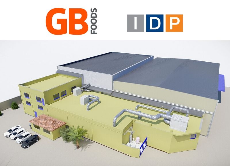 IDP completes the project and the construction management of the GBFoods factory extension in Algeria
