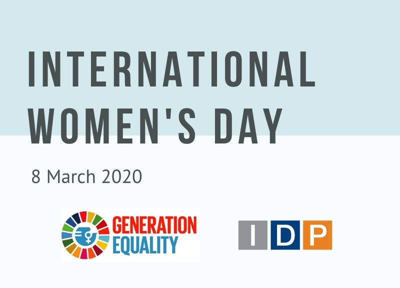 International Women's Day 2020. I am Generation Equality