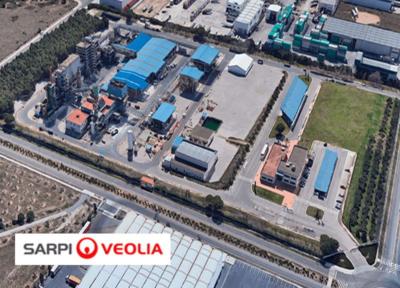 IDP carries out the expansion of the Sarpi-Veolia special waste plant in Constantí (Tarragona)