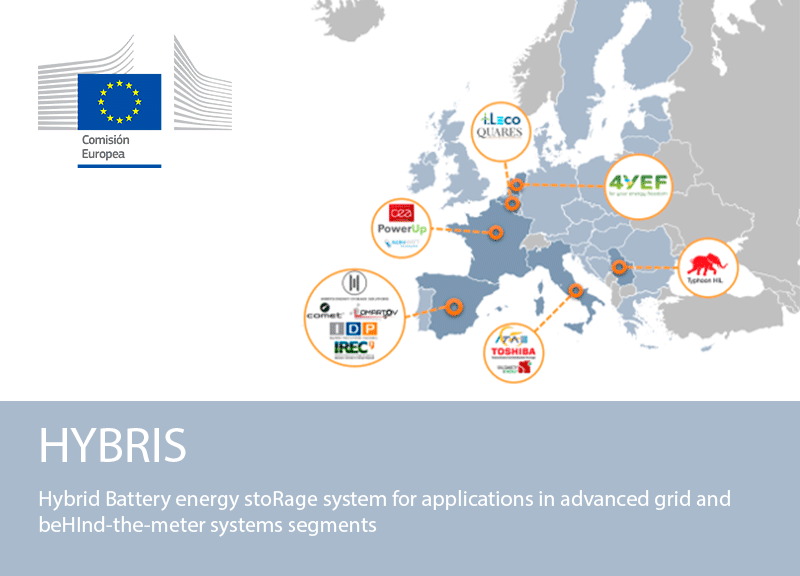 IDP is awarded the project of R&D HYBRIS of the European Union