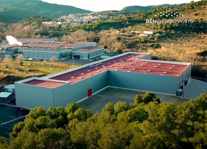 IDP completes the expansion of the industrial plant for BCNonwovens in Sant Quintí de Mediona (Barcelona)